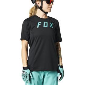 Fox Defend SS Jersey Women, negro